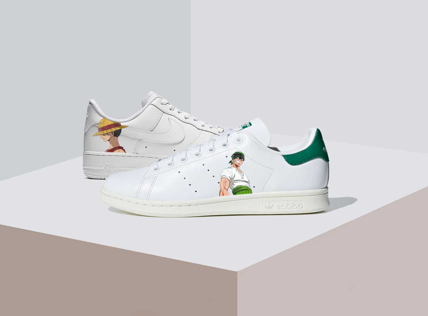 Air force one , stan smith customisées